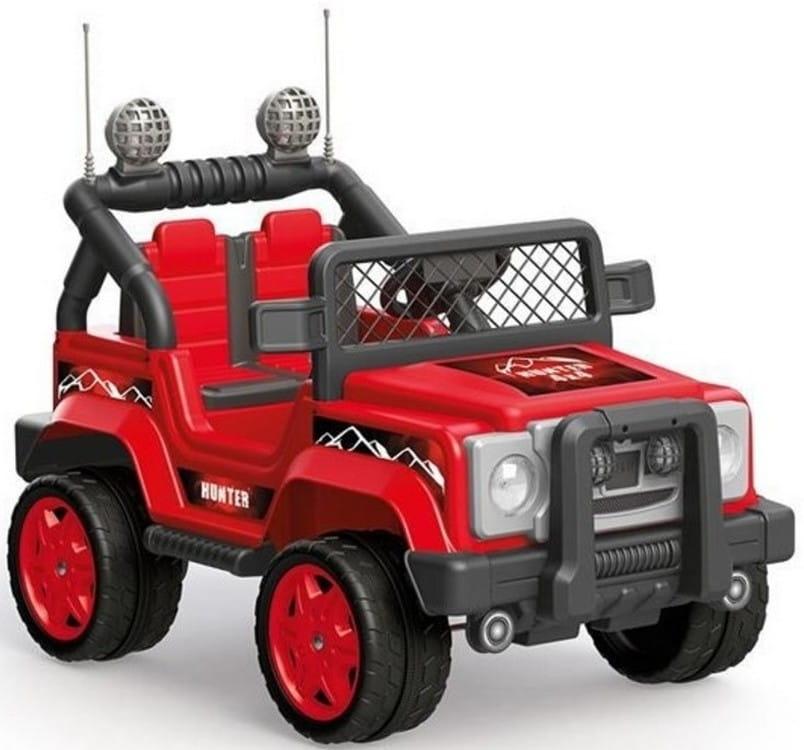 Электромобиль DOLU Тьягу  красно-черный (на аккумуляторе 6V) - Электромобили