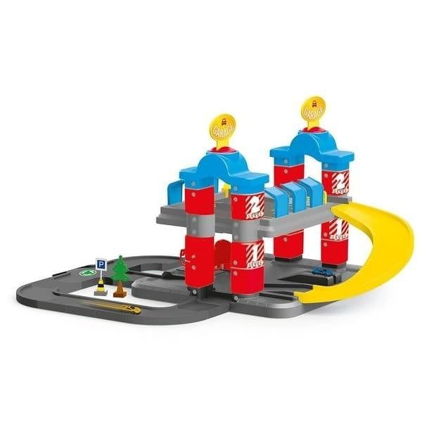 Игровой набор DOLU Паркинг Гигант с автомобилями (2 уровня)