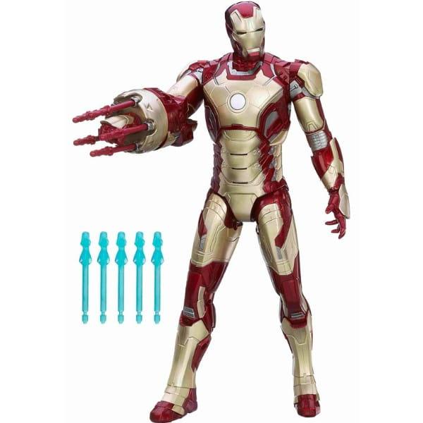 Купить Железный Человек с пулеметом Iron Man (Hasbro) в интернет магазине игрушек и детских товаров