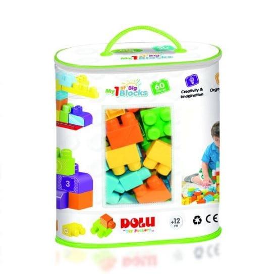 Конструктор DOLU - 60 элементов (в сумке)