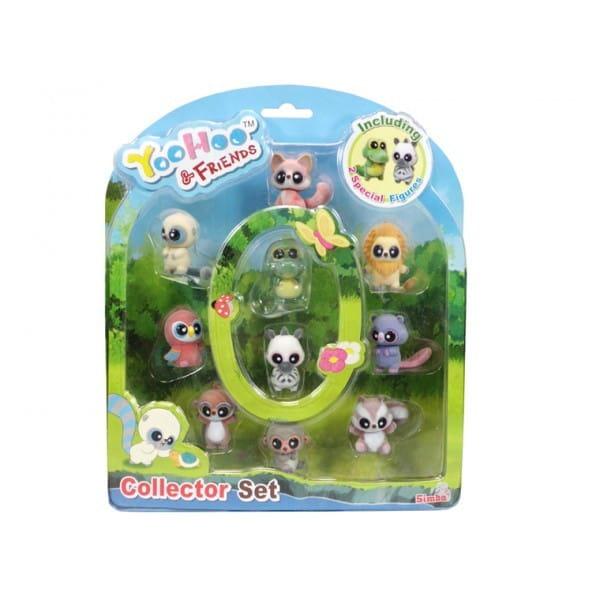 Купить Набор фигурок YooHoo and Friends 5 см - 10 штук (Simba) в интернет магазине игрушек и детских товаров