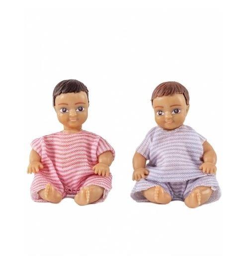 Набор кукол для домика LUNDBY Два пупса