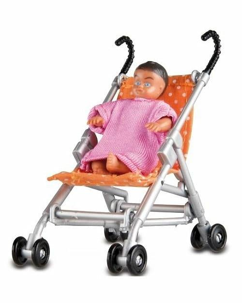 Игровой набор LUNDBY Коляска с малышом