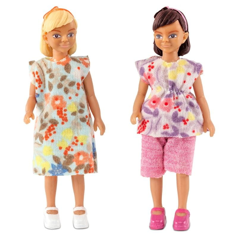 Набор кукол для домика LUNDBY Две девочки