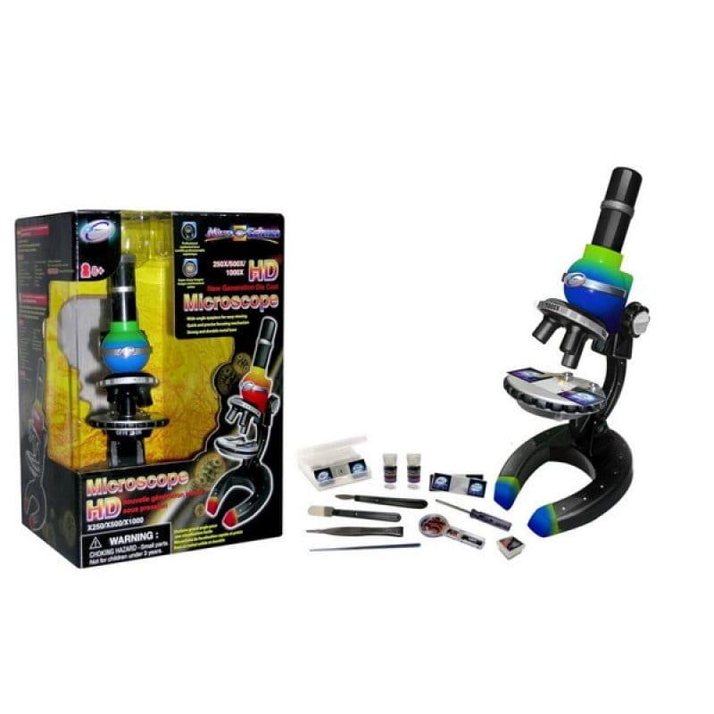 Набор для опытов с микроскопом нового поколения EASTCOLIGHT  59 предметов - Оптические приборы