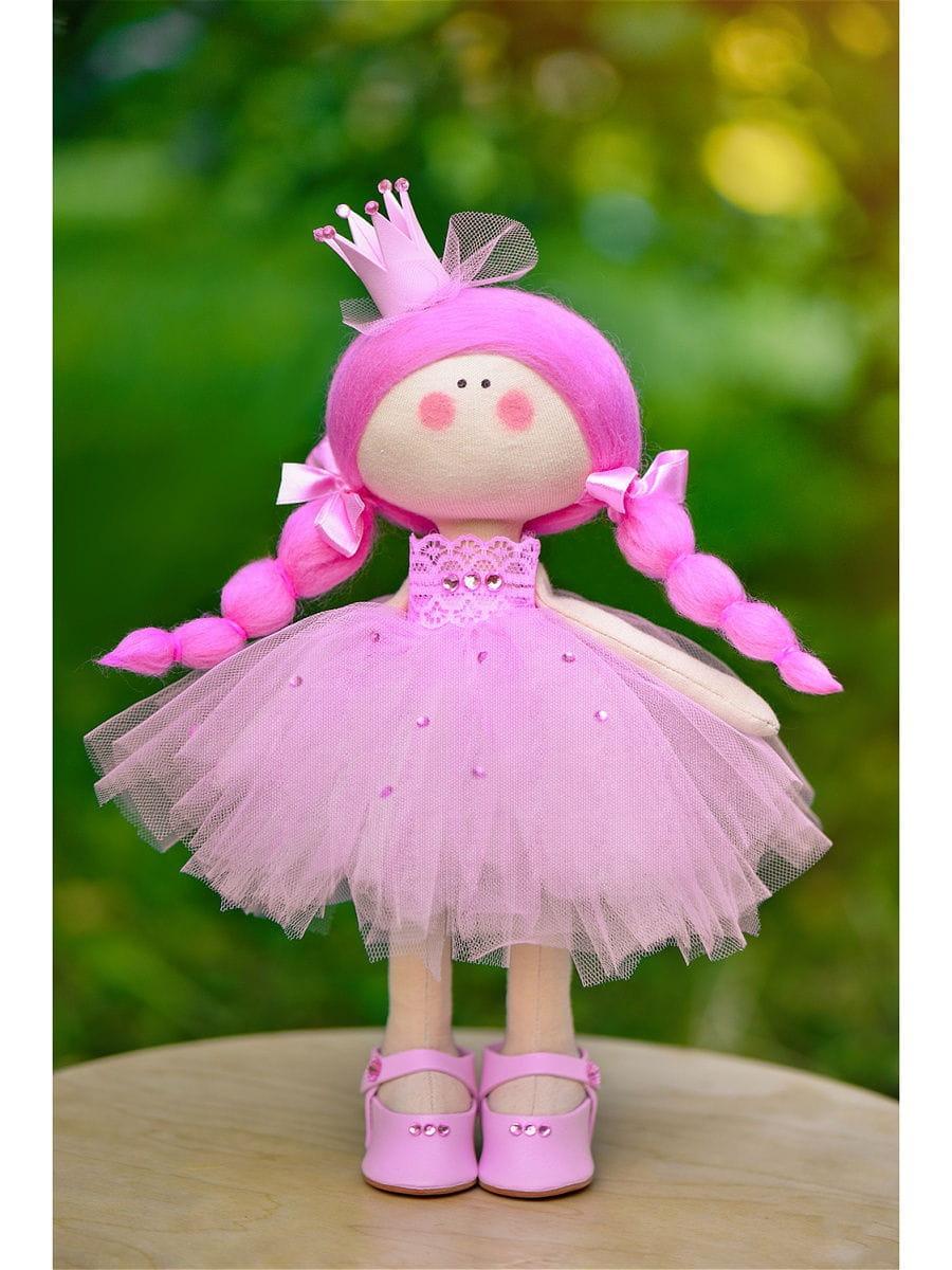Кукла ручной работы КРАСОТУЛЕНЬКА  Принцесса в розовом платье - Куклы и пупсы