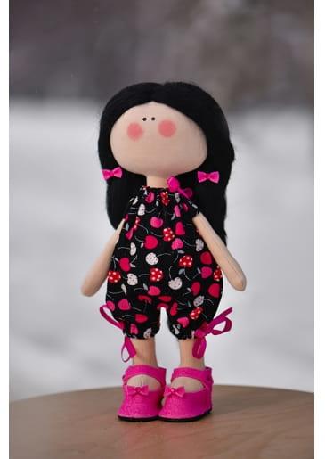 Кукла ручной работы КРАСОТУЛЕНЬКА в розовых туфельках - Куклы и пупсы