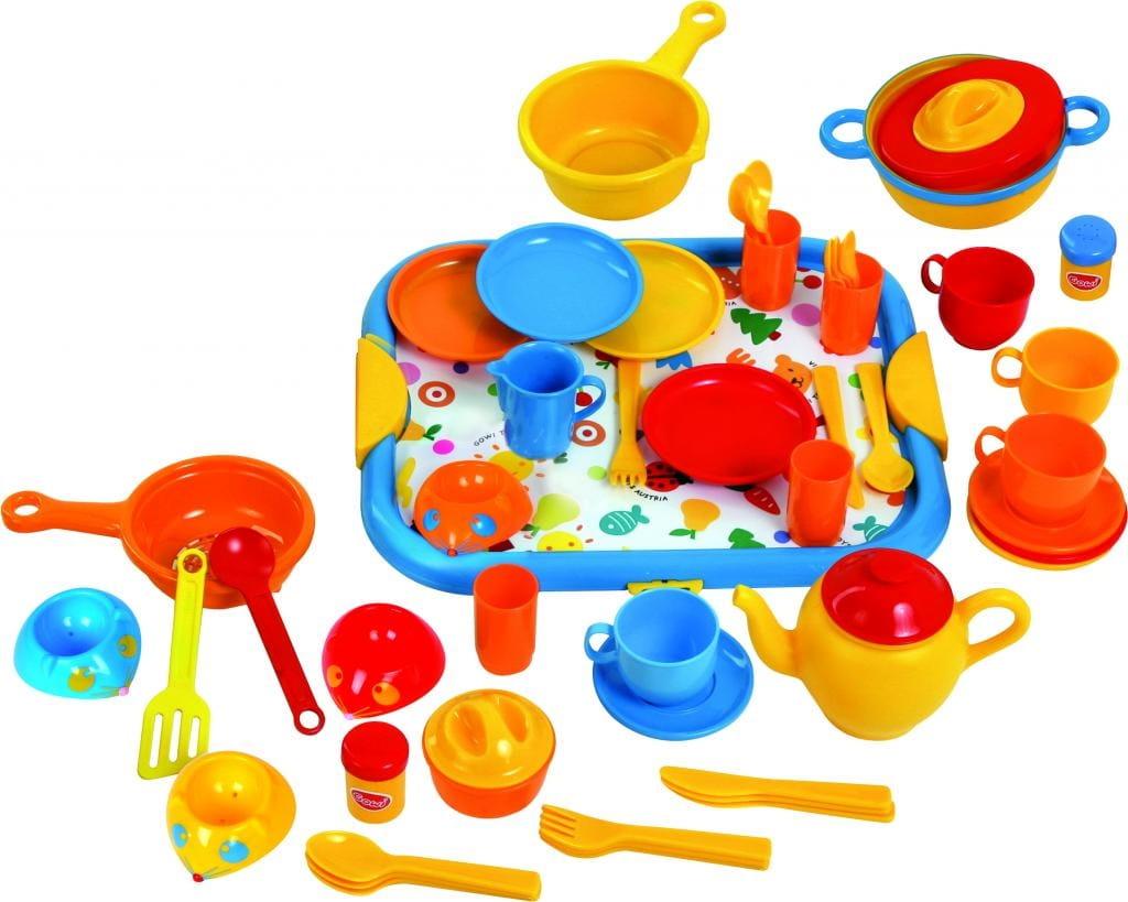 Игровой набор посуды GOWI Большой кулинар № 1 (52 элемента) - Все для юной хозяйки