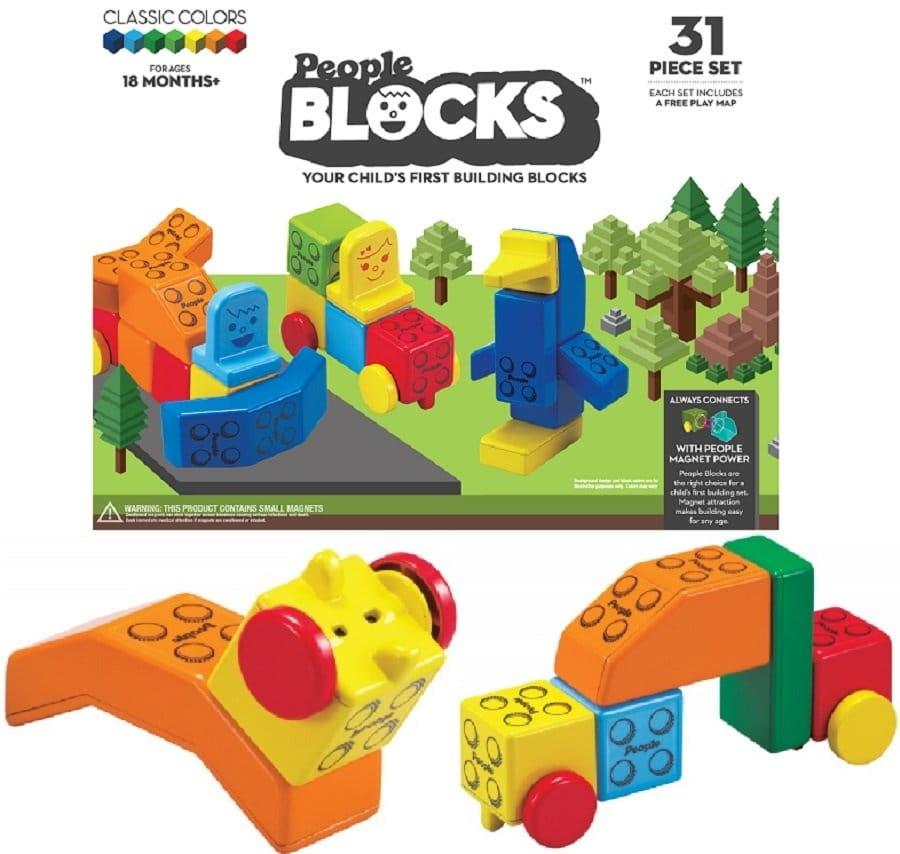 Набор кубиков PEOPLE Blocks - Развивающие центры и игрушки