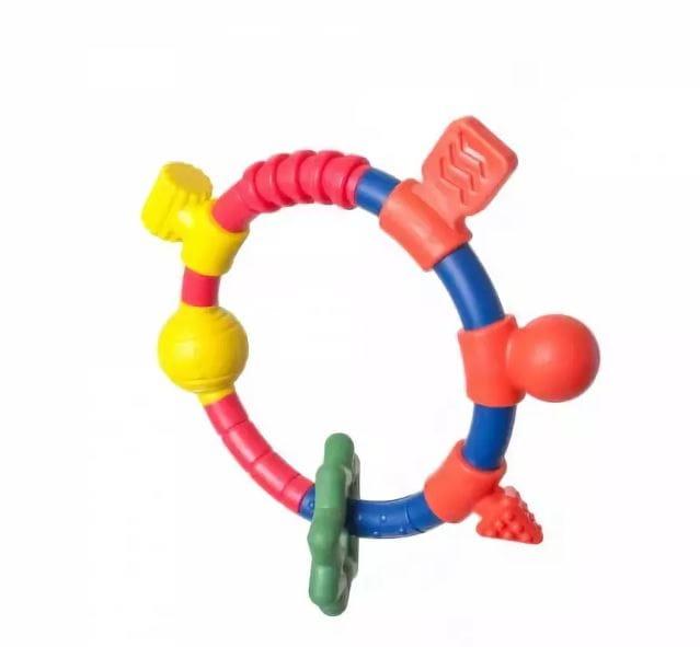Прорезыватель PEOPLE Кольцо для двух рук - Развивающие центры и игрушки
