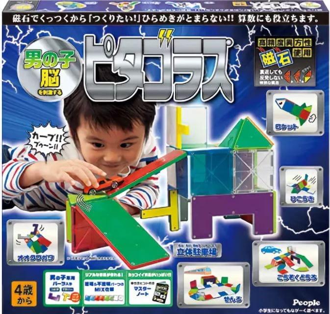 Магнитный конструктор PEOPLE Pythagoras для мальчиков - Магнитные конструкторы