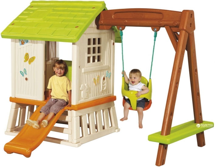 Игровой домик с качелями и горкой SMOBY - Игровые домики и палатки
