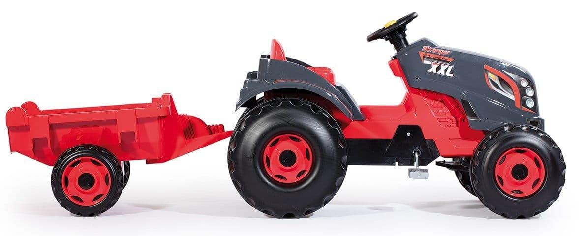 Педальный трактор SMOBY XXL с прицепом - Веломобили