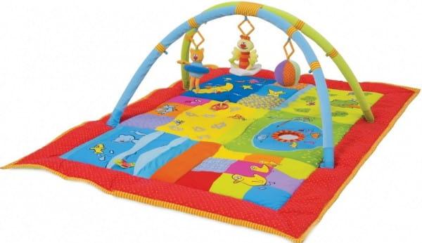 Купить Развивающий коврик Taf Toys 2 в 1 в интернет магазине игрушек и детских товаров