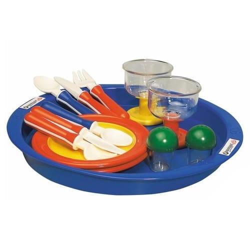 Игровой набор посуды SPIELSTABIL Время ланча  13 элементов - Все для юной хозяйки