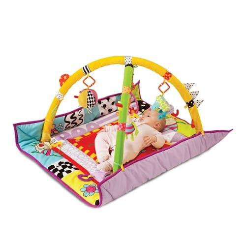 Купить Развивающий коврик Taf Toys с дугами в интернет магазине игрушек и детских товаров
