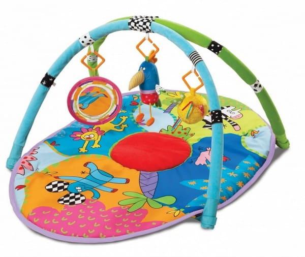 Купить Развивающий коврик Taf Toys Сафари в интернет магазине игрушек и детских товаров