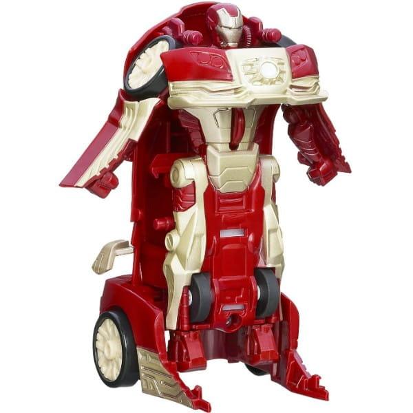 Купить Фигурка-трансформер Iron Man - Красный автомобиль (Hasbro) в интернет магазине игрушек и детских товаров
