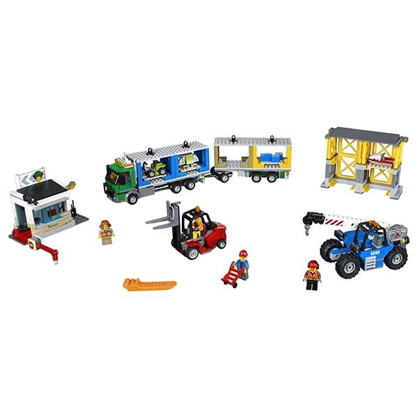 Конструктор LEGO City Лего Город Грузовой терминал