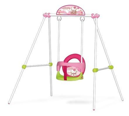 Купить Качели металлические Smoby Hello Kitty в интернет магазине игрушек и детских товаров