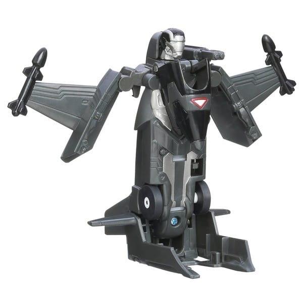 Купить Фигурка-трансформер Iron Man - Черный истребитель (Hasbro) в интернет магазине игрушек и детских товаров