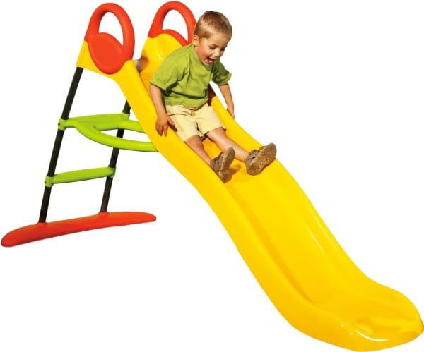 Купить Желтая горка Smoby 115 см в интернет магазине игрушек и детских товаров