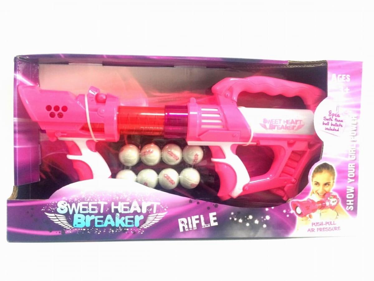 Бластер для девочек TOY TARGET Sweet Heart Breaker 22023 - Игровые наборы для девочек