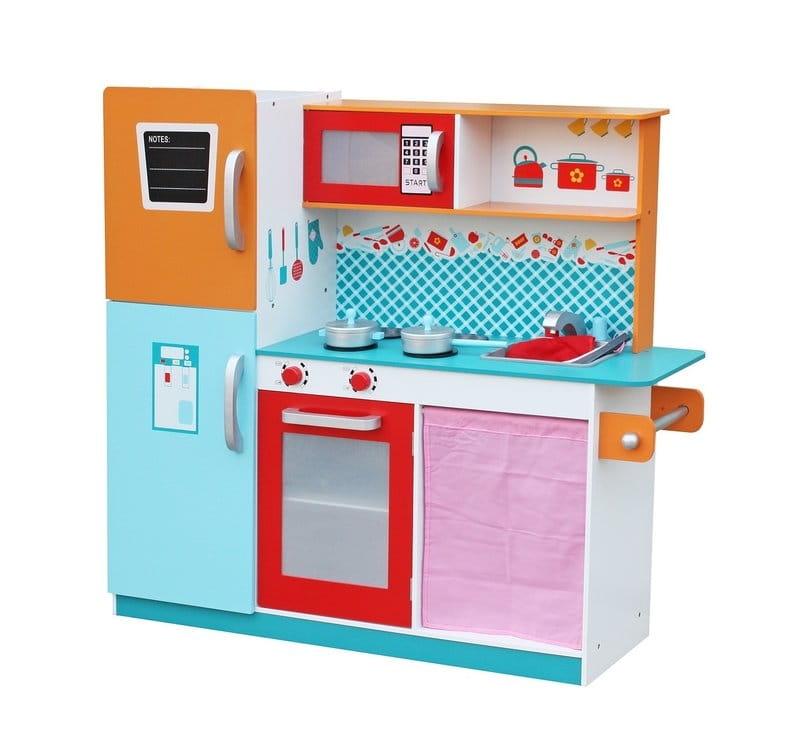 Детская игровая кухня с аксессуарами LANALAND Ницца