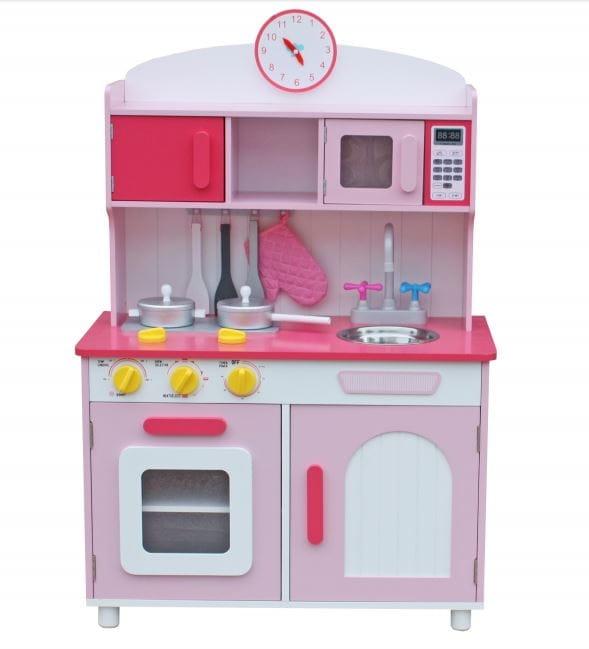 Детская игровая кухня с аксессуарами LANALAND Ривьера