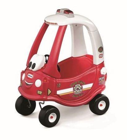 Купить Каталка Little Tikes Пожарная машина (красная) в интернет магазине игрушек и детских товаров