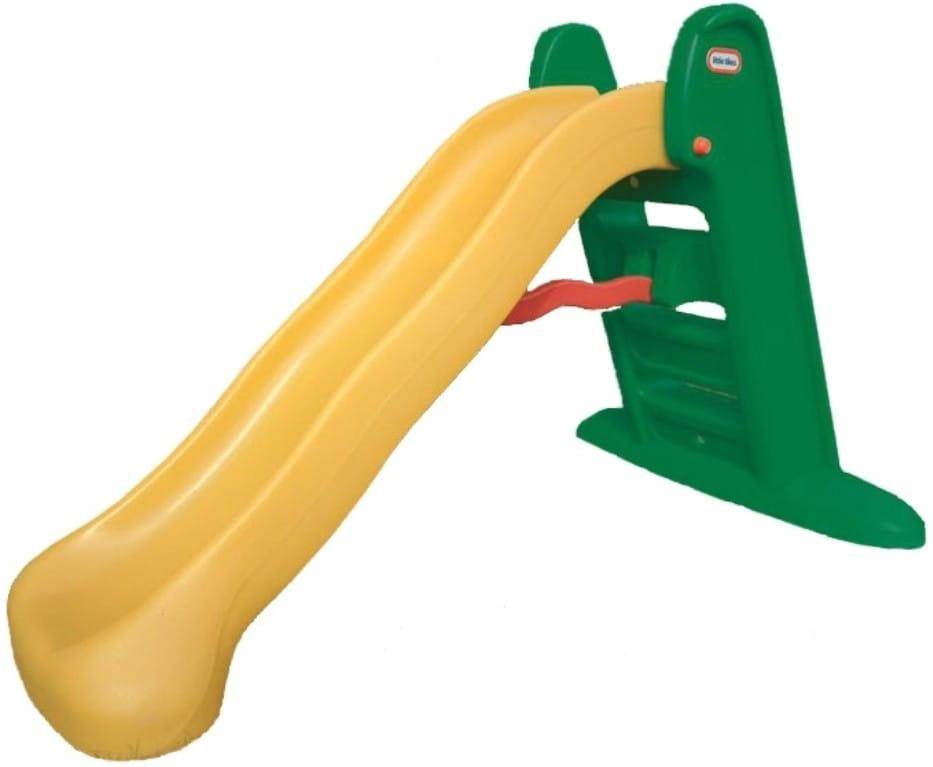 Горка складная LITTLE TIKES (зелено-желтая)