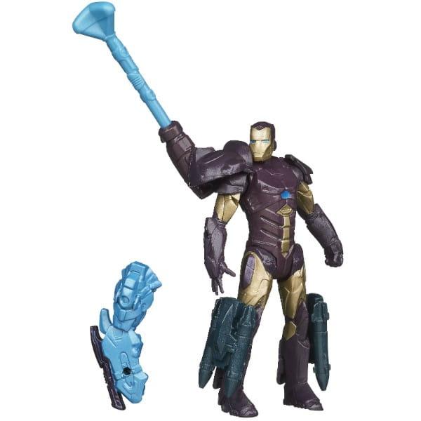 Купить Разборная фигурка Железного Человека Iron Man Высокие технологии Stealth tech (Hasbro) в интернет магазине игрушек и детских товаров