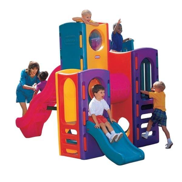Купить Игровой центр Little Tikes Горки в интернет магазине игрушек и детских товаров