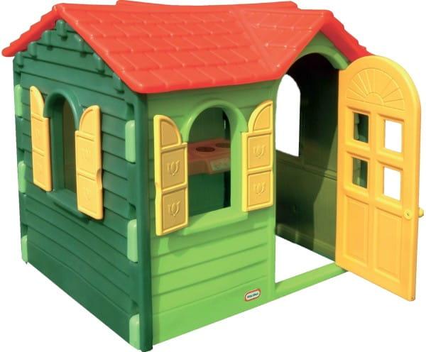 Купить Игровой домик Little Tikes Дачный - зеленый в интернет магазине игрушек и детских товаров