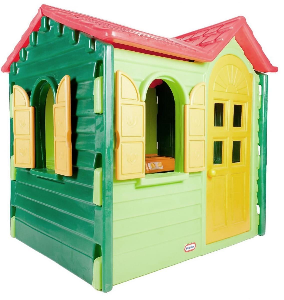 Игровой домик Little Tikes 440S Дачный - зеленый