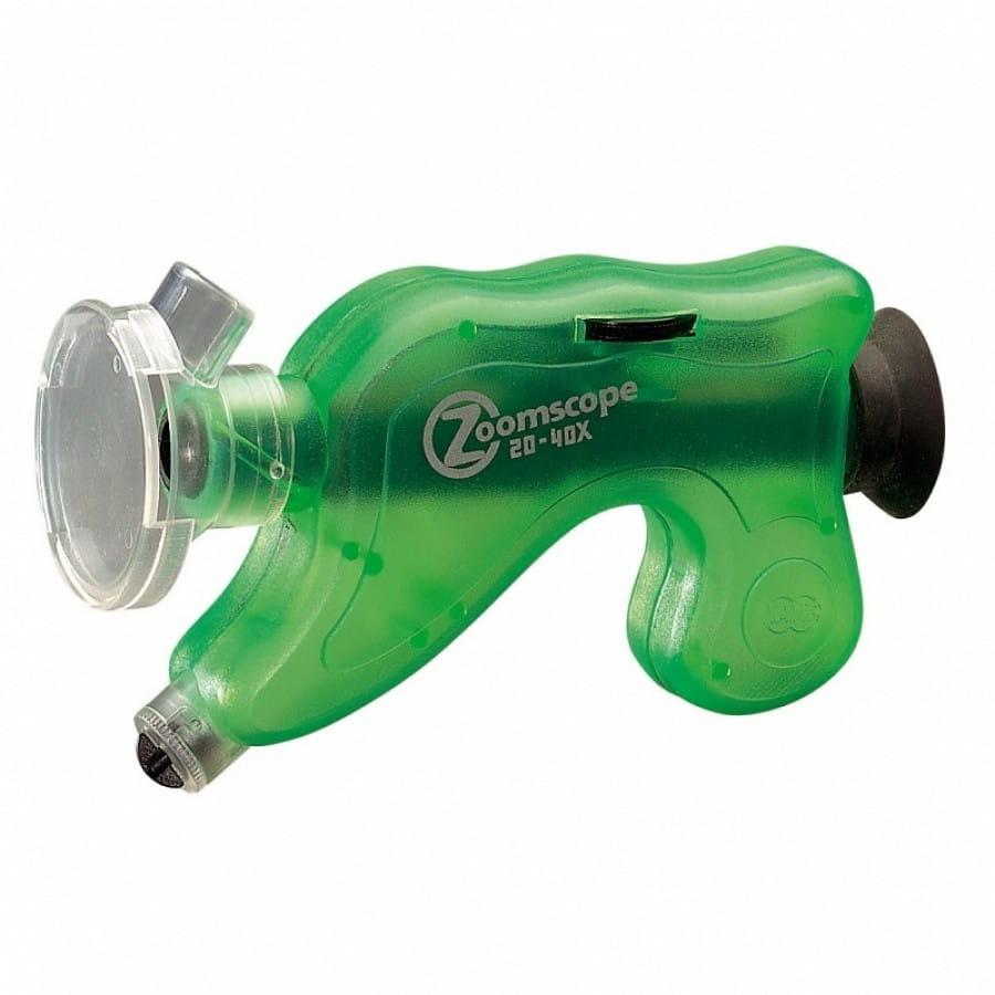 Портативный микроскоп NAVIR с подсветкой и регулировкой - зеленый