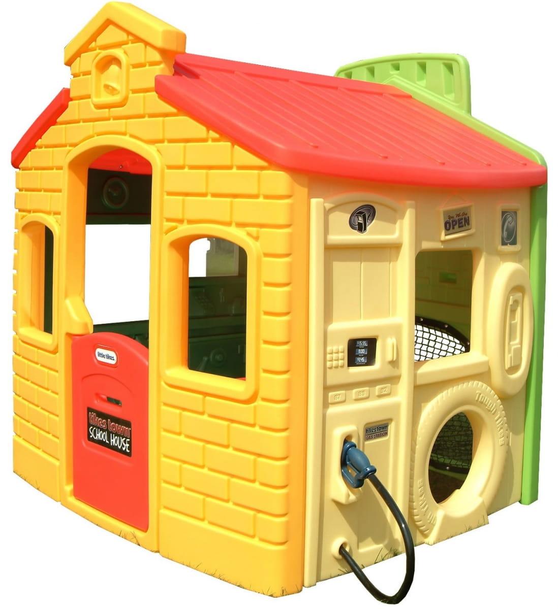 Игровой мульти-домик Little Tikes 444C (спорт, школа, заправка и магазин)