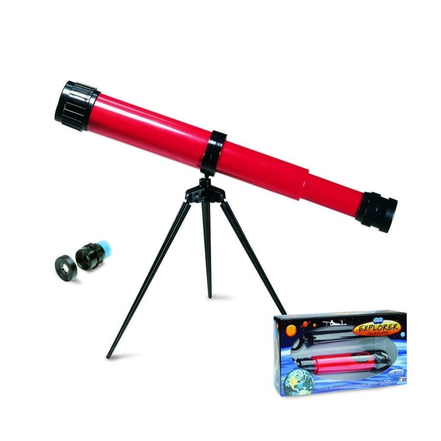 Телескоп NAVIR на триподе - красный