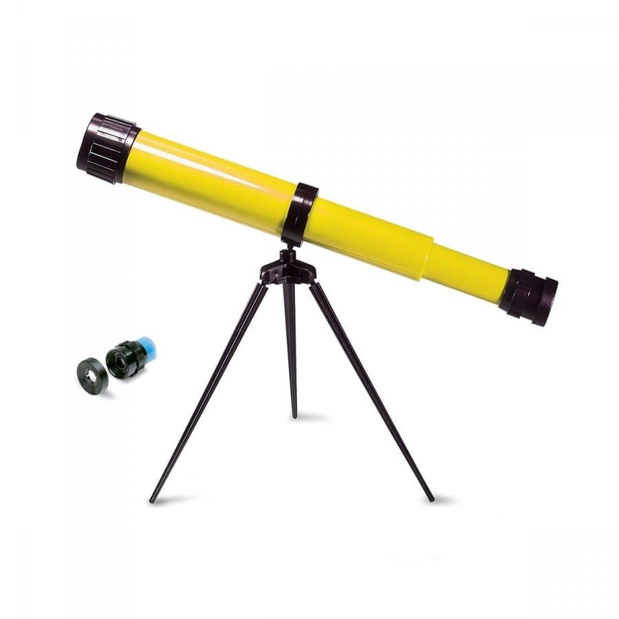 Телескоп NAVIR на триподе - желтый