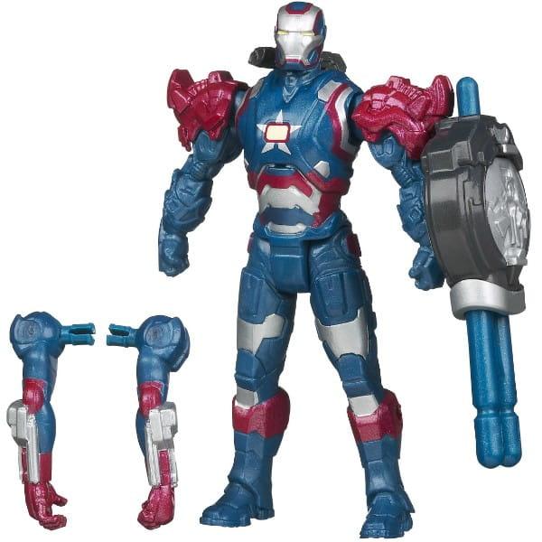 Купить Разборная фигурка Железного Человека Iron Man Patriot (Hasbro) в интернет магазине игрушек и детских товаров