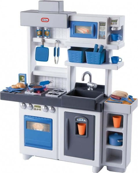 Купить Кухня Little Tikes бело-голубая в интернет магазине игрушек и детских товаров