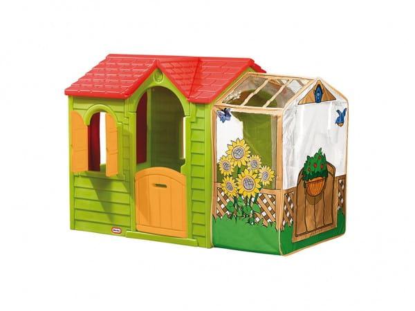 Купить Игровой домик Little Tikes Садовый - зеленый в интернет магазине игрушек и детских товаров