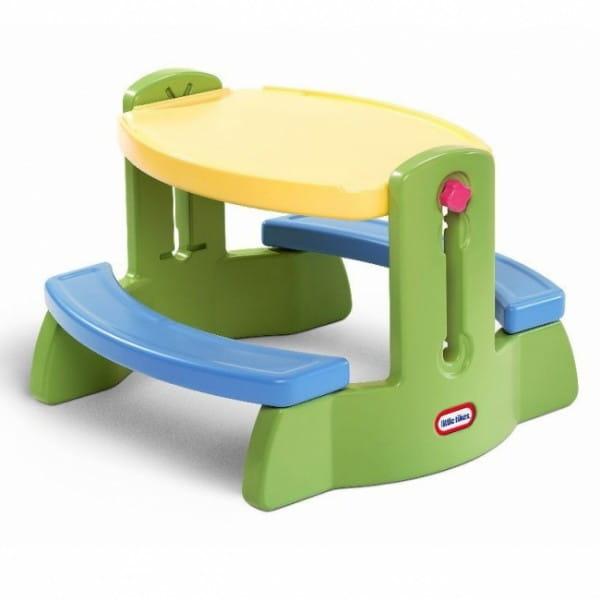 Купить Столик со скамейками Little Tikes с регулируемой высотой в интернет магазине игрушек и детских товаров
