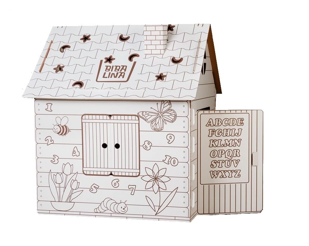 Игровой домик  раскраска BIBALINA Colouring play-house - Игровые домики и палатки