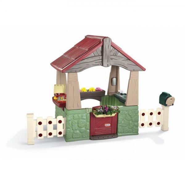 Купить Игровой домик Little Tikes Садовый в интернет магазине игрушек и детских товаров