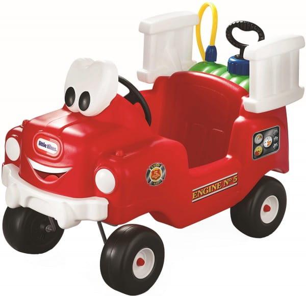Купить Каталка Little Tikes Пожарная машина в интернет магазине игрушек и детских товаров