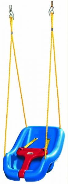 Купить Сиденье для качелей Little Tikes с высокой спинкой и съемным ограничителем в интернет магазине игрушек и детских товаров