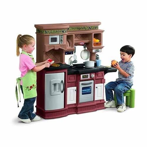 Купить Кухня Little Tikes коричневая в интернет магазине игрушек и детских товаров
