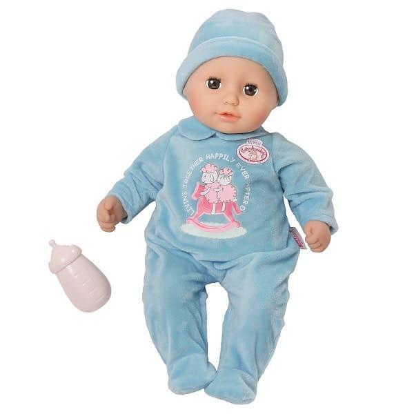 Кукла-мальчик My first BABY ANNABELL с бутылочкой - 36 см (Zapf Creation)