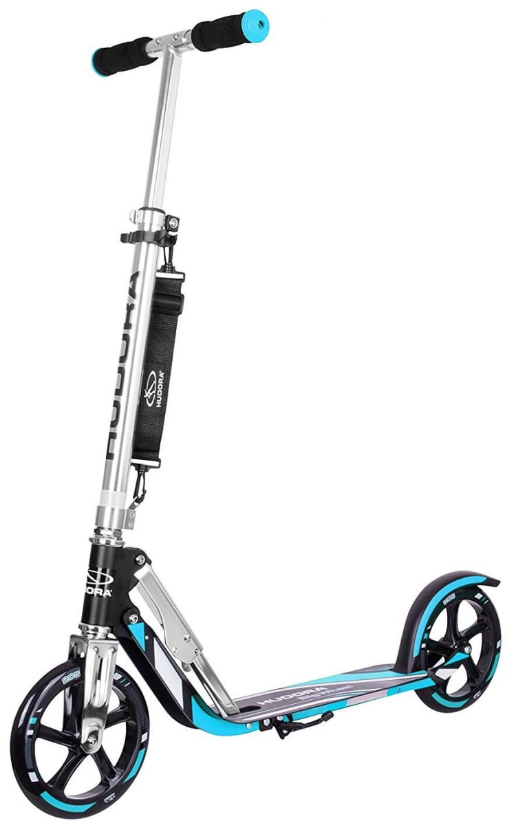 Самокат HUDORA Big Wheel RX-Pro 205 - black-blue